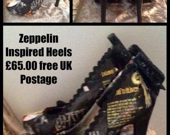 Zepplin inspired heels