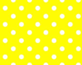 Yellow Polkadot Party Favor