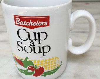 vintage Batchelors Cup a Soup, Tastier Anytime, Tams, Made in England, 1980s