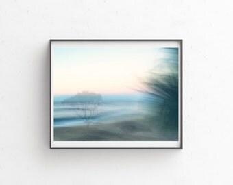 Beach art photography, ocean theme wall art, Ocean sunset, beach print, tropical print, fine art giclee print