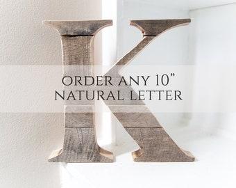 Woodland Nursery | Wood Letter | Wall Letter | Nursery Wall Letter | Wooden Letter | Rustic Home Decor | Rustic Wall Decor | Farmhouse Decor
