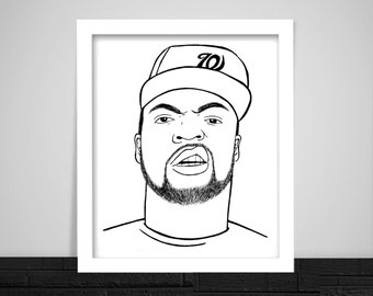 Ice Cube Print