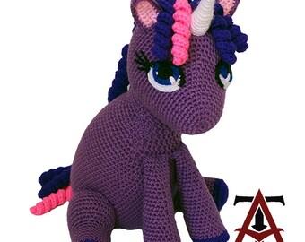 Purple Unicorn Toy