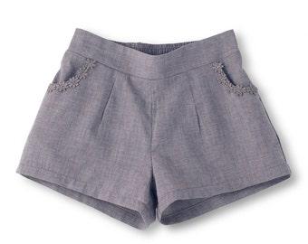 Organic Girls Shorts