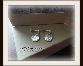 Little Disc Earrings