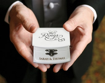 Personalised Ring Bearer Box