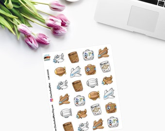 KAWAII TRAVEL Planner Stickers - CAM00025