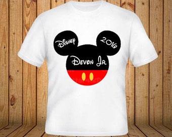 Disney Trip Shirt With Mickey
