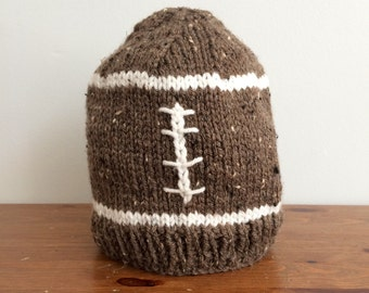 Winter football hat