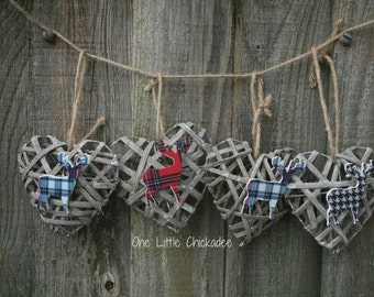 Stag Heart Hanging Decoration