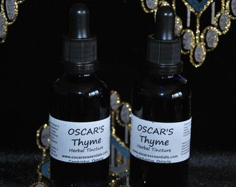 OSCAR'S Just In Thyme Herbal Tincture