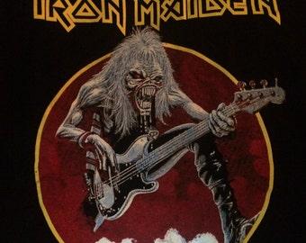 """Iron Maiden """"Eddie with guitar"""" t-shirt"""