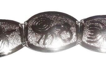 Amazing Nazca Lines Alpaca Silver Bracelet VM-610Z-CVM8