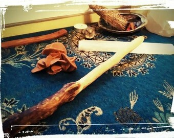 Hand Crafted Maple Natural Wand