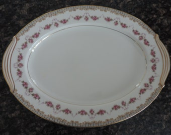 Noritake China Ridgewood 5201  Serving Plate Vintage