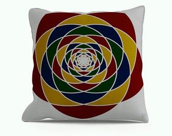 Chaos Indoor Throw Pillow