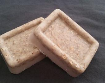 Shea Butter Oatmeal Soap, Vanilla, Honey