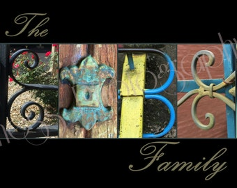 10x20 The Leibee Family mounted print UNFRAMED