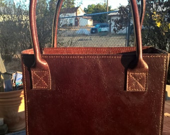 Your Customized Handcrafted Topgrain Leather Tote Bag