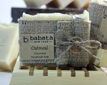 SOAP - Oatmeal Unscented Best Handmade Soap