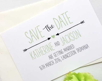 Modern Save the Date Printable Invitation