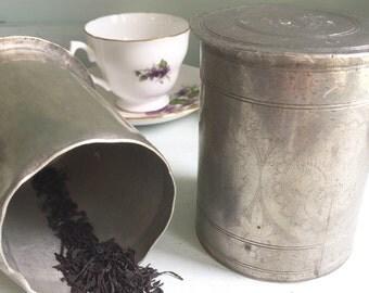Indonesian Tea Caddy