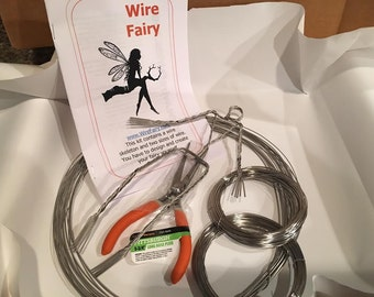 Wire Fairy Sculpture Kit