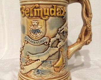 Beer Stein - Bermuda - Made in Japan