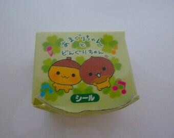 San-x * Amaguri Chan Sticker Box * Rare