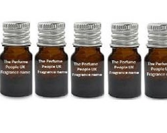 5 X 2.5ml Samples of any perfume oil .You choose - (The Perfume People)