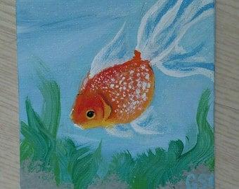 Small Goldfish Painting