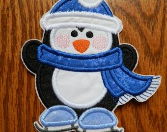 Iron On Applique Penguin