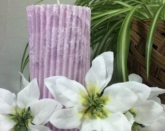 Palm Wax, Pillar 3x61/2, Jasmine
