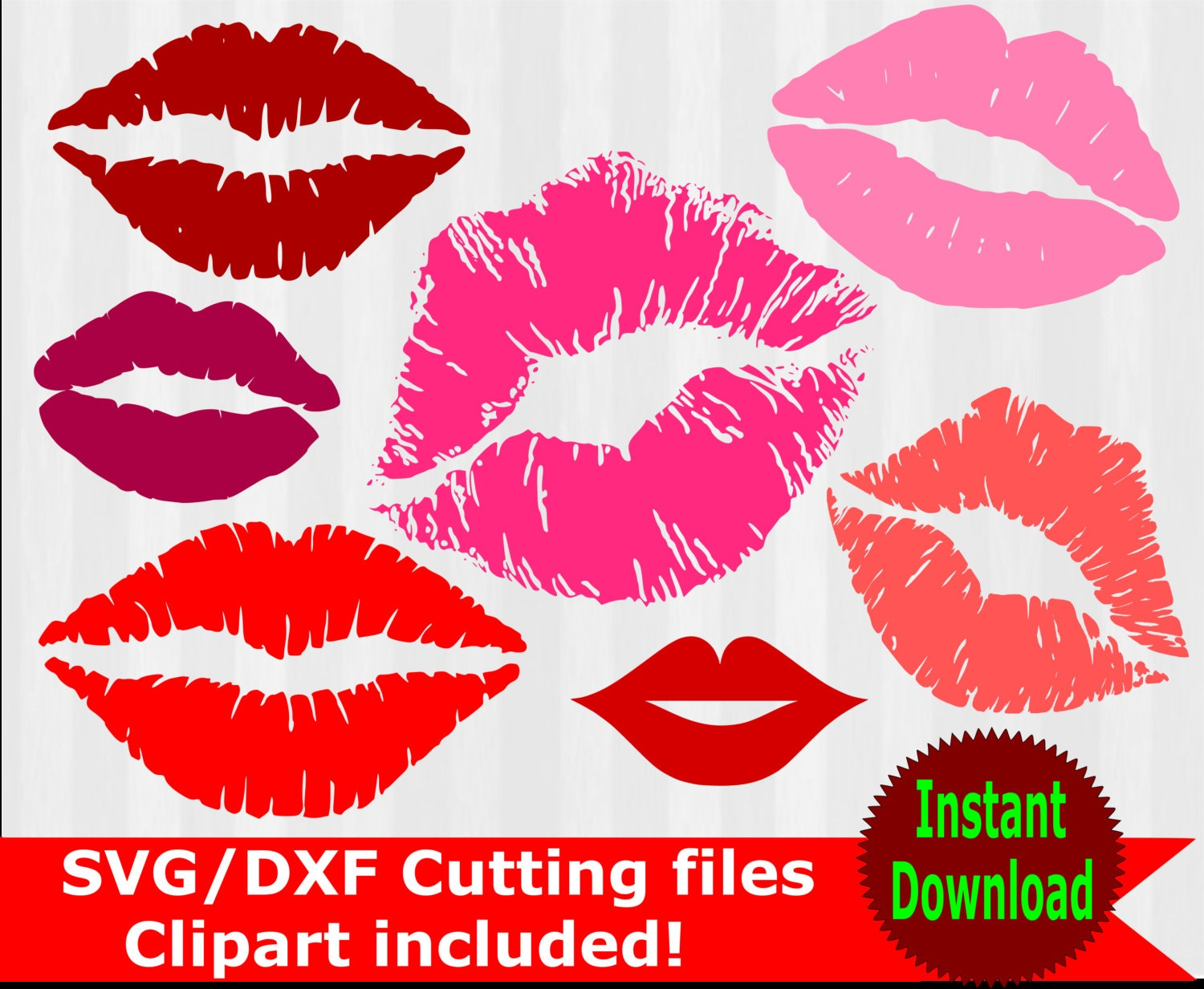 Download Kissing Lips SVG and clipart kiss lips clip art by ...