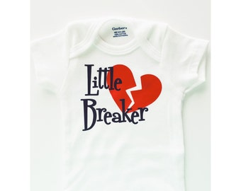 Little Heart Breaker Onesie, Boy Onesie, Valentines Onesie, Heart Breaker Onesie