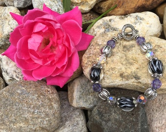 The Purple Splash Bracelet