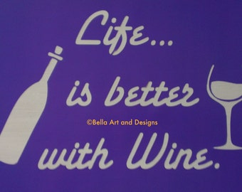 List 2 Wine stencils  *Free gift with every order*