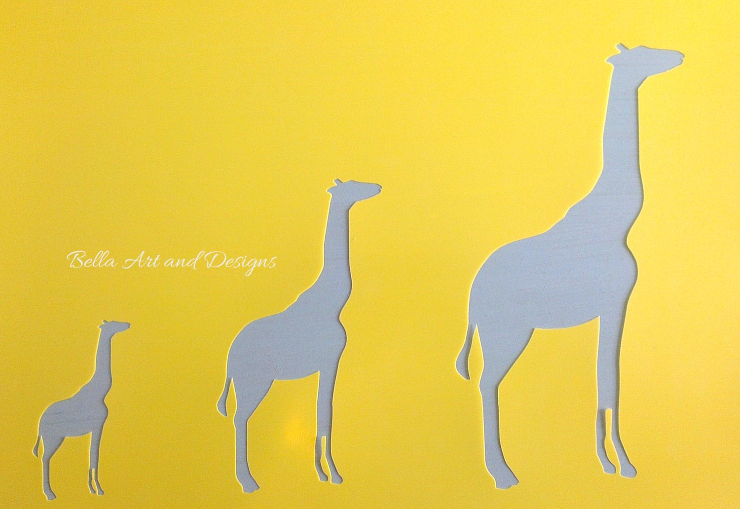 list 2 animal stencils free gift with every order from