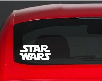 Star Wars Vinyl Car Decal - Vinyl Sticker - Car Sticker - Computer Sticker