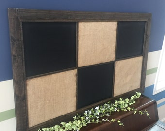 Memo Board-Office or Entryway Organization 3'X5' , Chalkboard, Magnet Board, Corkboard.