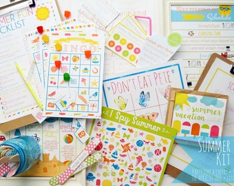 Summer Fun Kit Printables