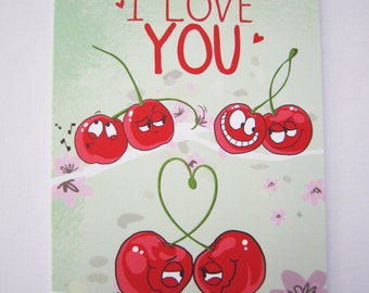 Greeting Card I love you Valentine