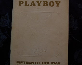 Playboy Magazine Jan 1969 - 15th Holiday Edition