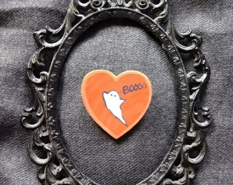 Spoopy Ghost Pin