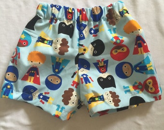 Custom boys cotton shorts size nb to 24 months