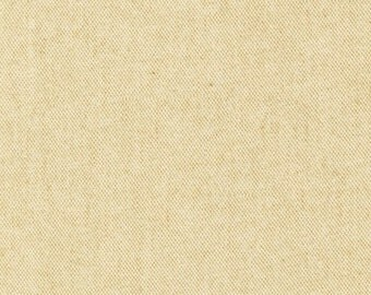 Cotton Flannel in Buttery Yellow