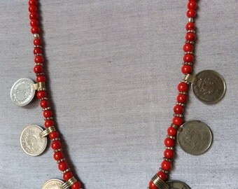 Vintage KUCHI with parts old necklace