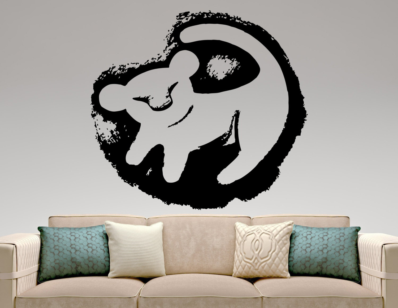 Lion King Home Decor: Simba Wall Decal Lion King Vinyl Sticker Kids Room Decor Home