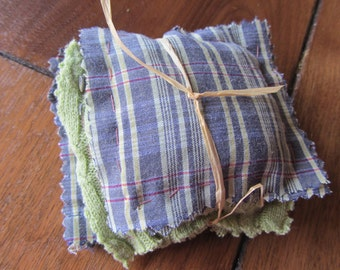 Organic Lavender Sachets or Dryer Pillows