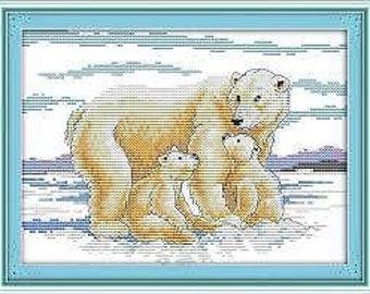 Cross Stitch Kit Maternal Love